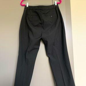 Straight fit black pants